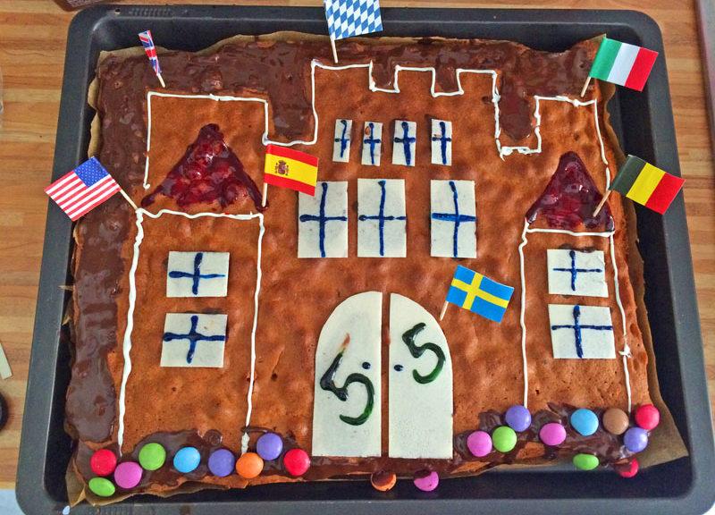 Der Kuchen für den Rittergeburtstag