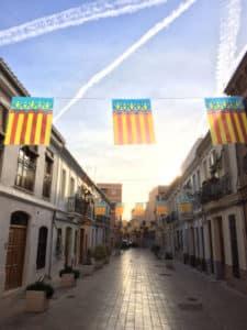 Flagge von Valencia