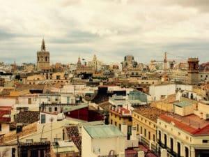 Valencia von oben